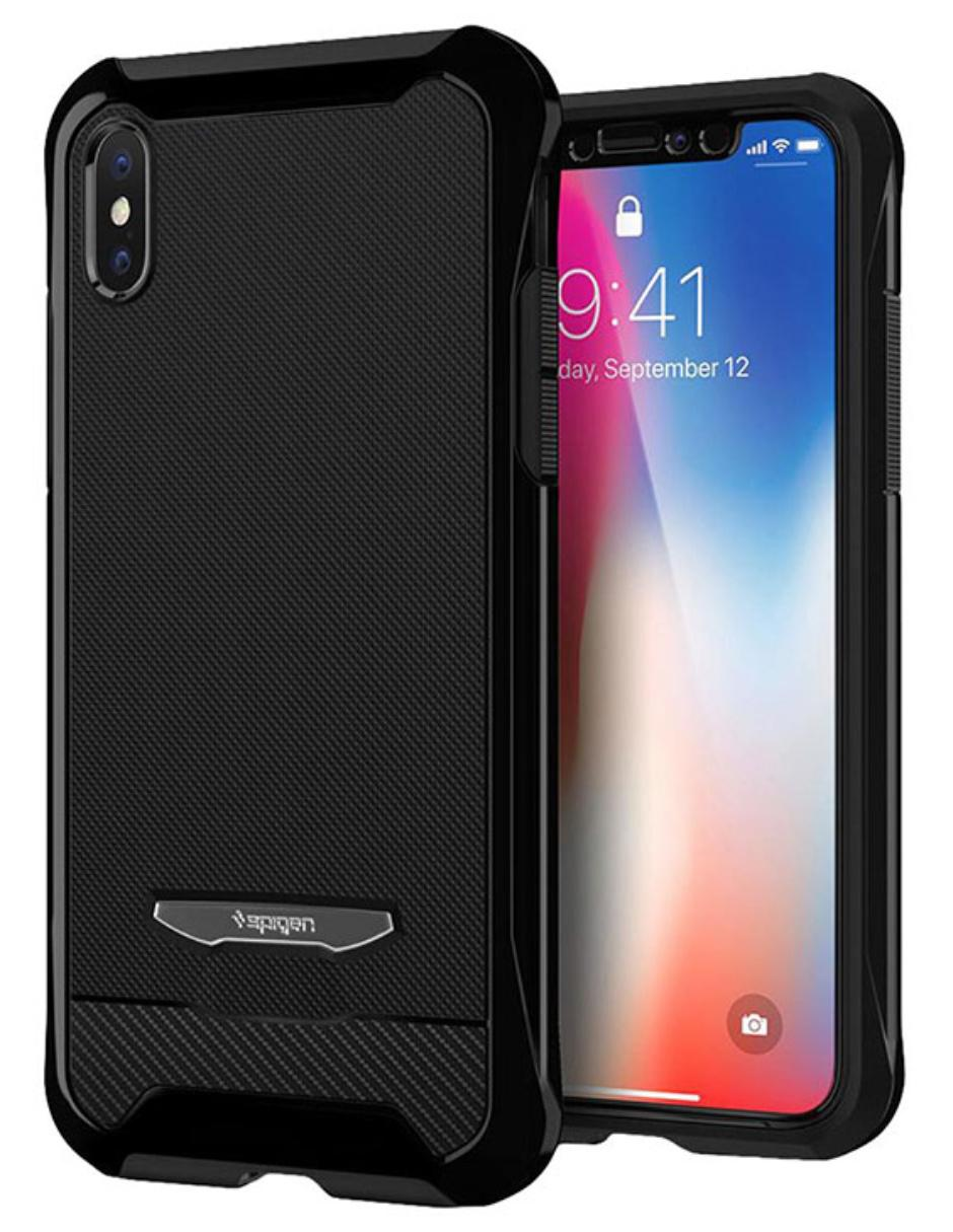 Para Liquid 8 Negra Iphone Air Spigen Funda 1cTKJl3F