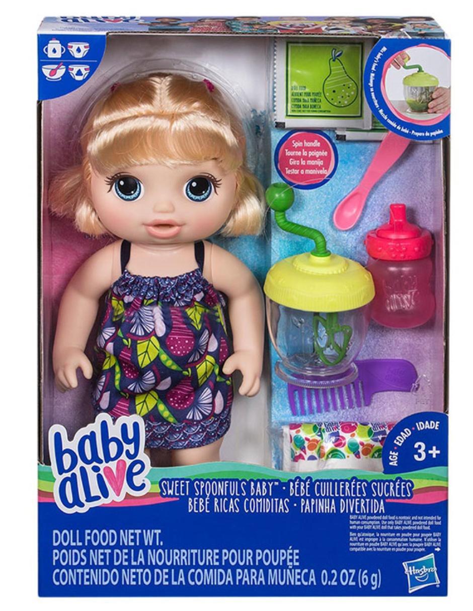 971d8f1689 Muñeca Comiditas Baby Alive