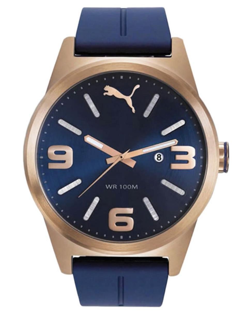 b6e185d79257 Reloj para caballero Puma Lifestyle PU104091005EC azul obscuro