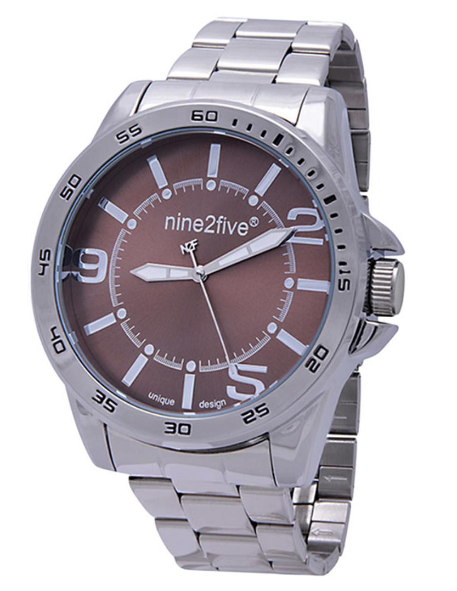 92a08083de7e Reloj para caballero Nine2Five APAL09SLCFEC plateado