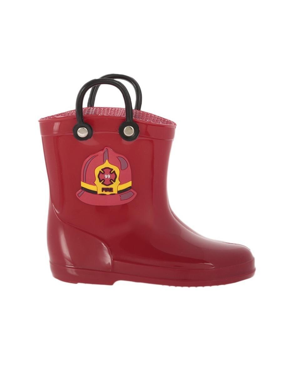 0bf6fd31 Bota de lluvia Weekend tipo bombero para niño
