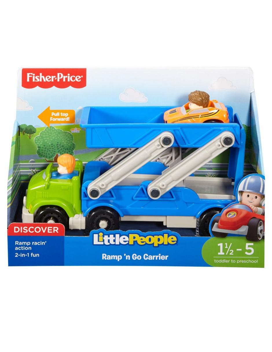 954a9a79f Remolque rampa de carreras Fisher-Price Little People