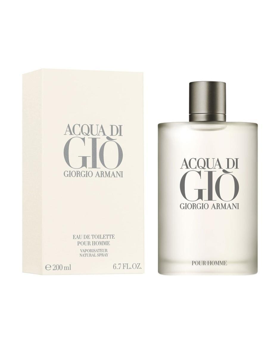 Fragancia para caballero Giorgio Armani Acqua Di Giò Pour Homme 200 ml Eau  de Toilette